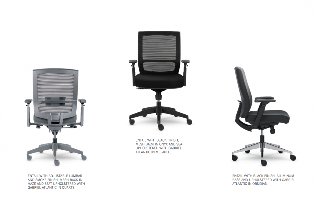 Feature rich office chair from würk Furniture and Allseating