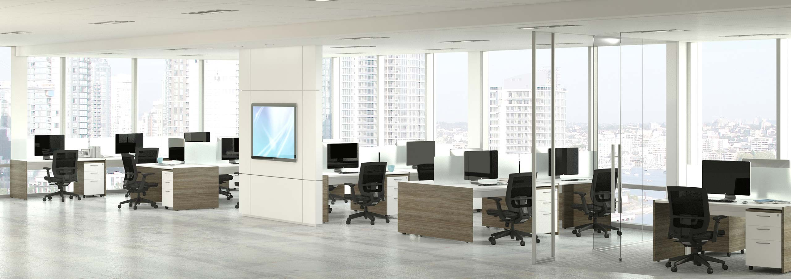 Office furniture benches