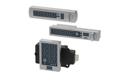 Electronic locks for office furniture