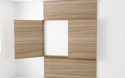 Glass Marker Boards with cabinet & wall support