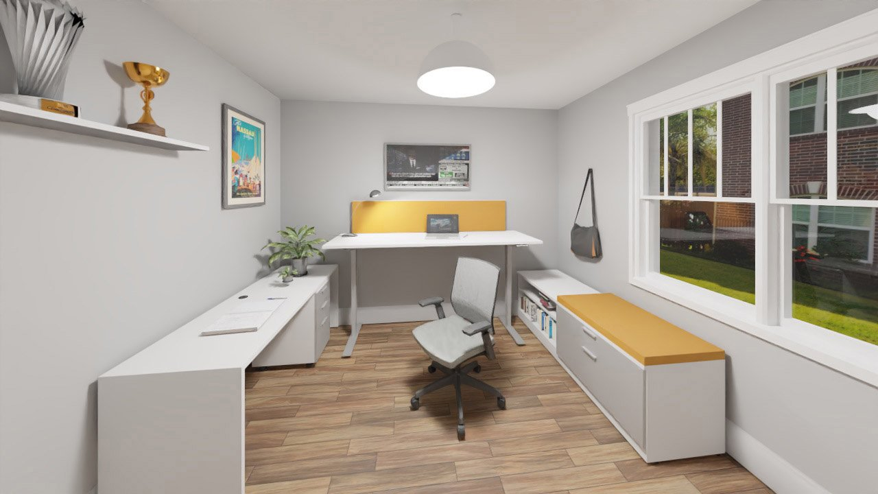 Typical Height Adjustable Desk 2395 in interior