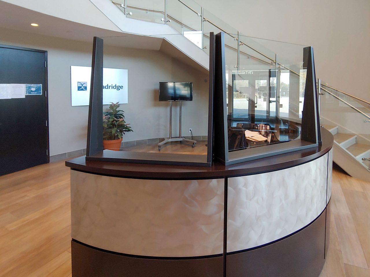Transaction Shields on a Reception