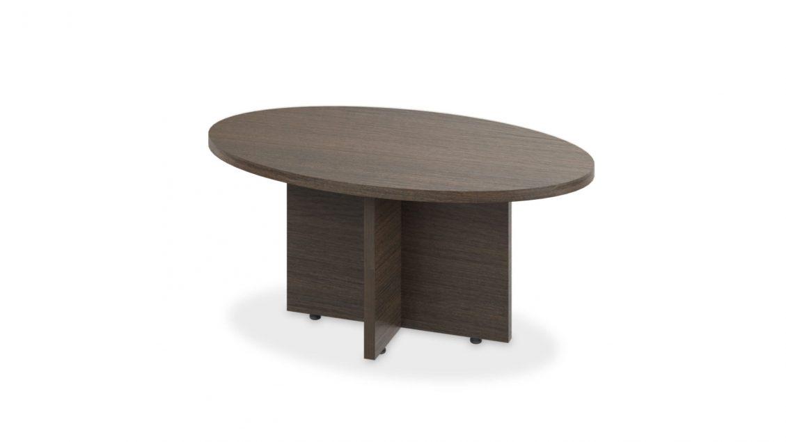 Solo Oval Coffee Table 1619 on white bakcground