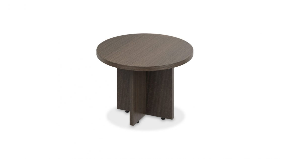 Solo Round Coffee Table with X-Base - 1641