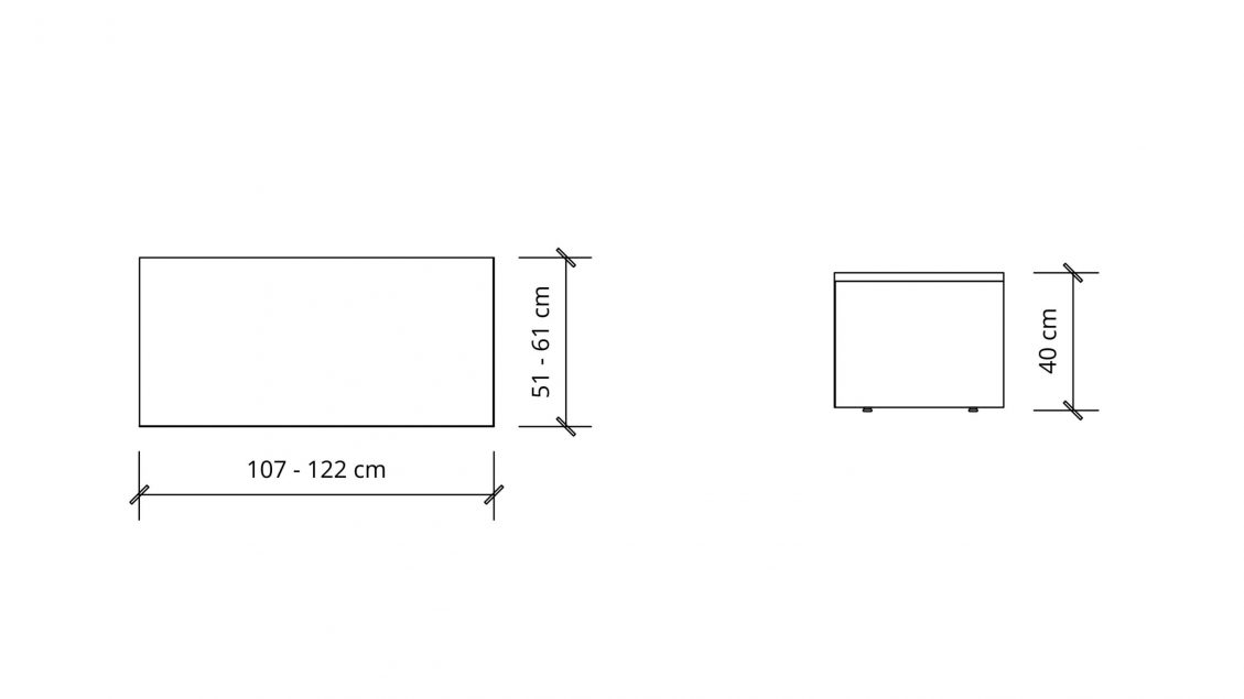 Dimensions of Rectangular Coffee Table 1653