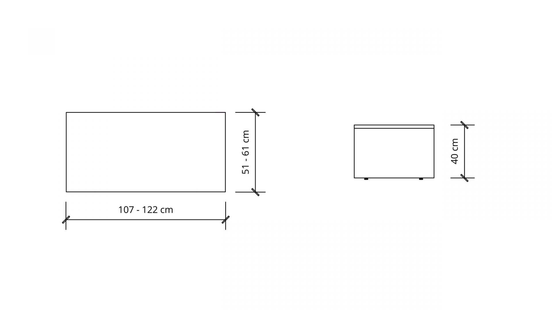 Dimensions of Rectangular Coffee Table 1655