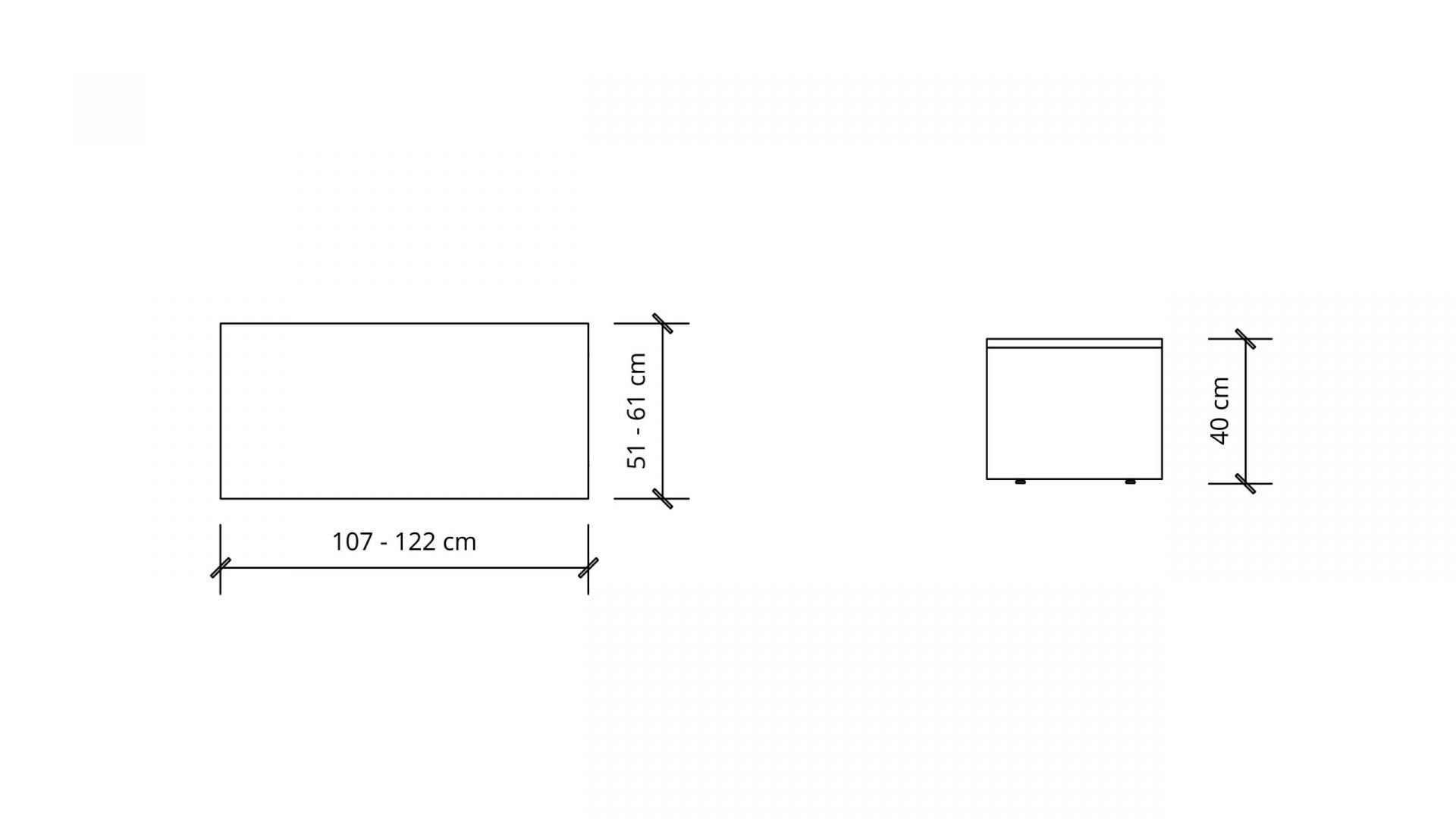Dimensions of Rectangular Coffee Table 1656