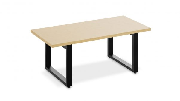 Rectangular Table 1658 on a white background
