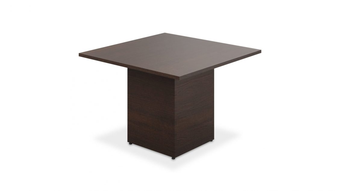 Square Meeting Table with square base - 1662