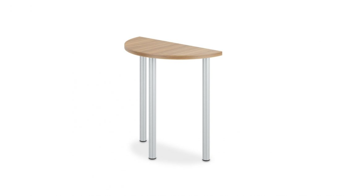 Half Round Meeting Table 1663 on a white background