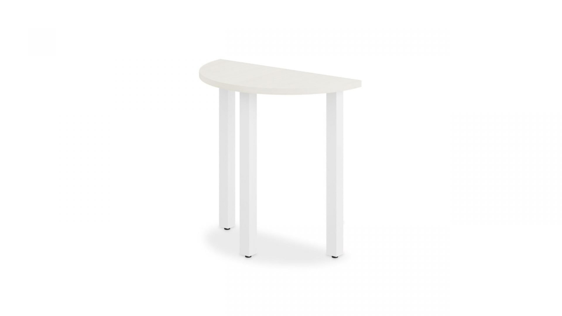 Half Round Table 1664 in a white background