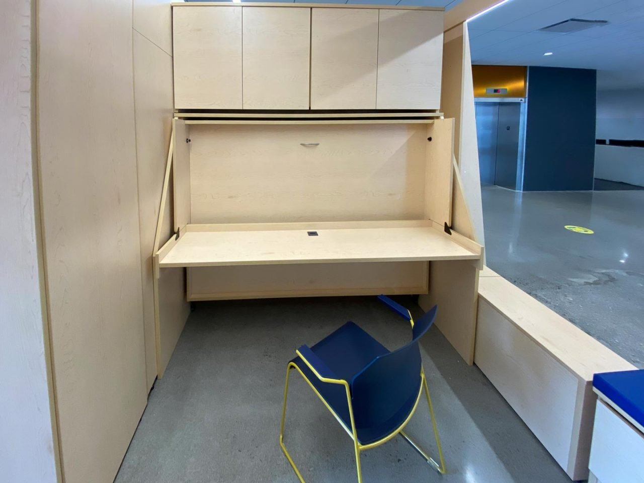 Murphy Bed/Desk - Dormitory Furniture