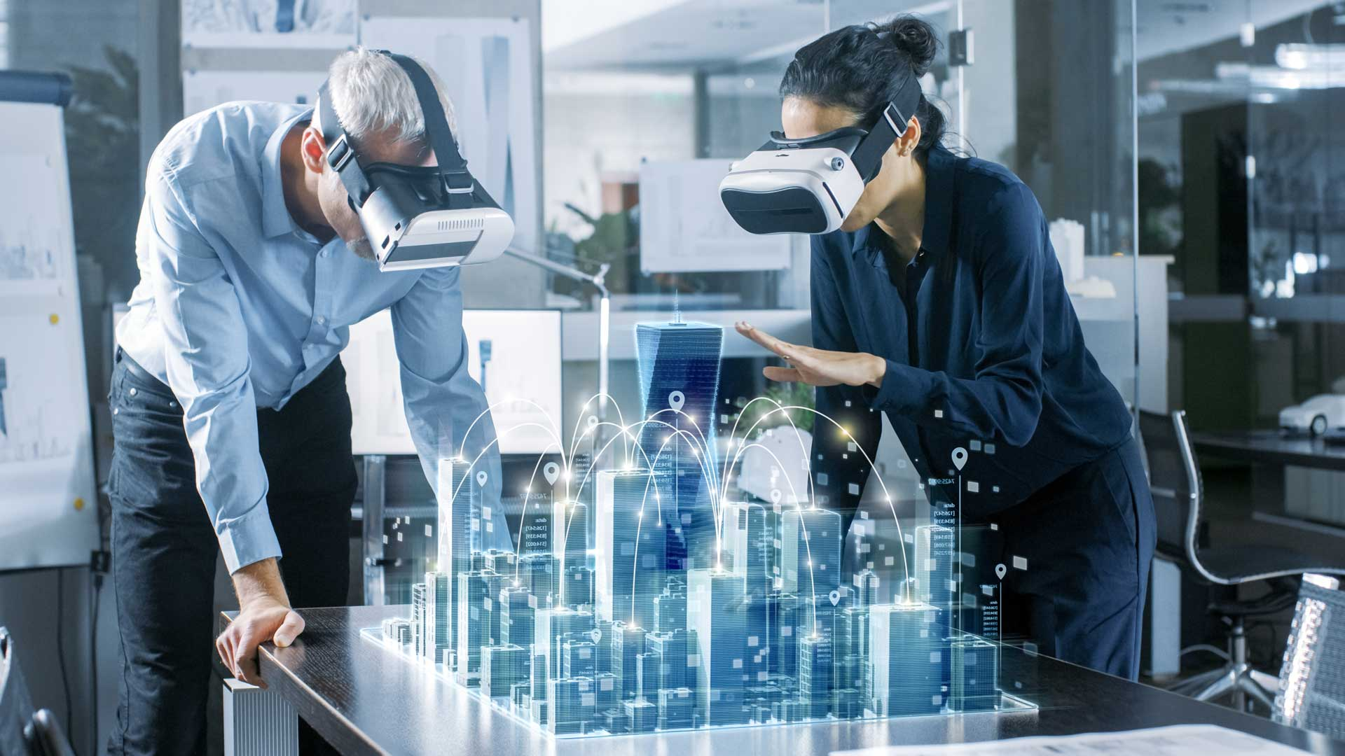 Planners are collaborating with VR headsets