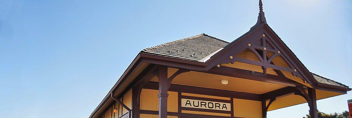 Grand Trunk Railway Station Aurora