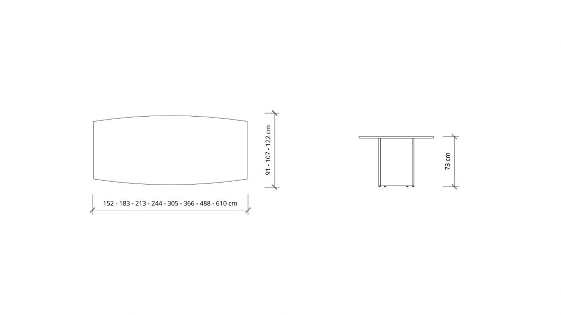 Dimensions of Boat Boardroom Table 1400
