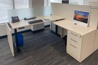 New office furniture: Workstation
