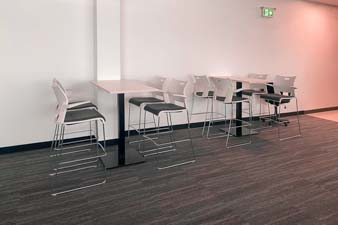 New office furniture: Bar Tables with Stools