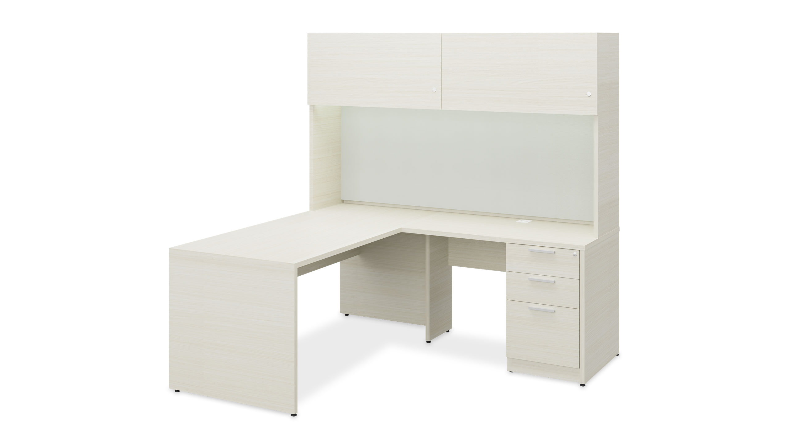 Hutch L-Desk 2905 on a white background