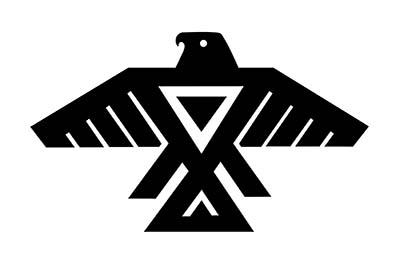 Anishinabe Thunderbird by Grand Chief Ben Wawia