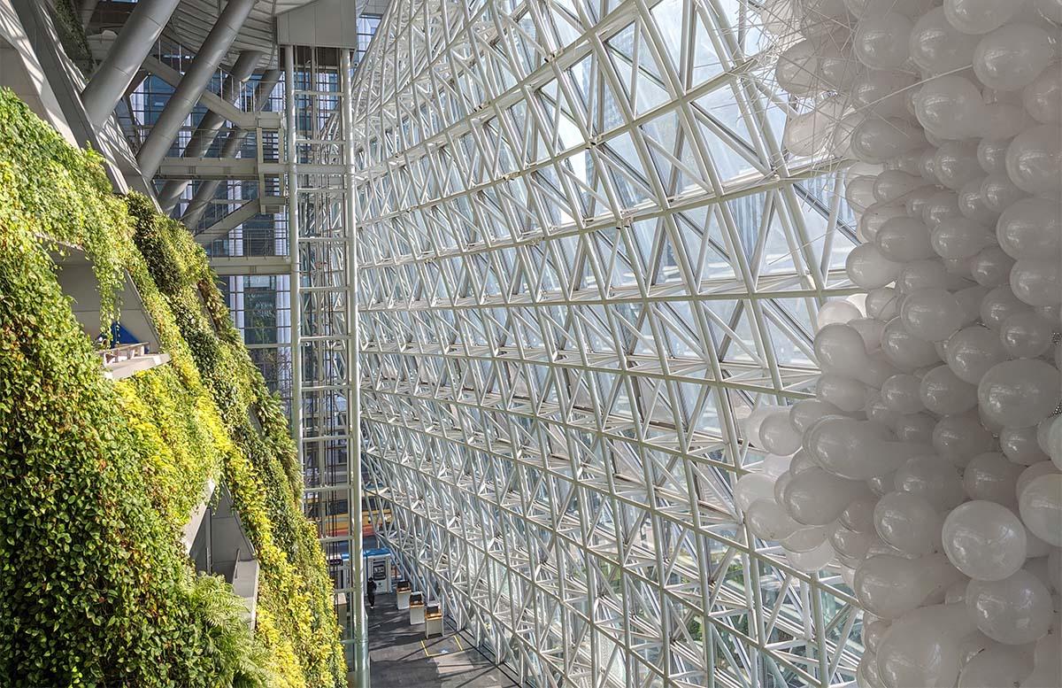 Seoul City Hall indoors